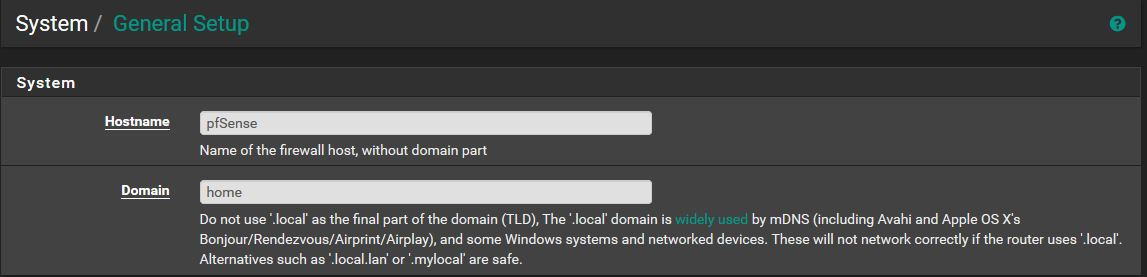 Assigning Hostnames to Your Internal Network Devices with Pi